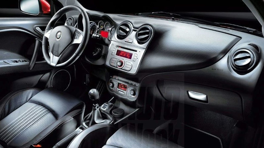 Alfa Romeo Mi.To First Interior Shots Revealed