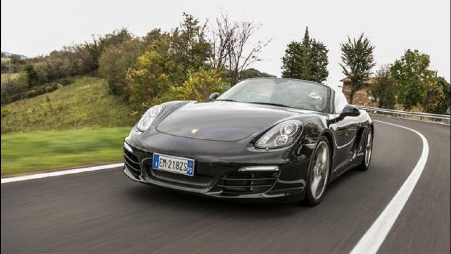 Porsche Boxster 2.7 265 CV, la prova su strada