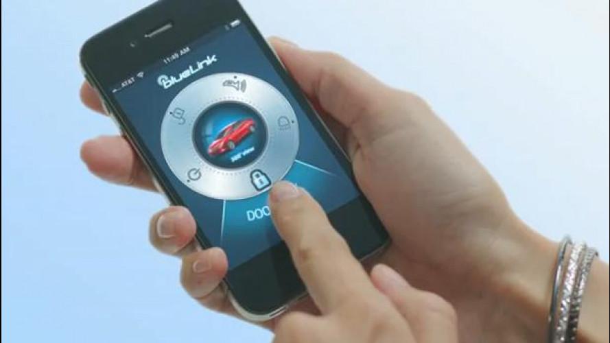 Hyundai, lo smart phone al posto delle chiavi dell'auto