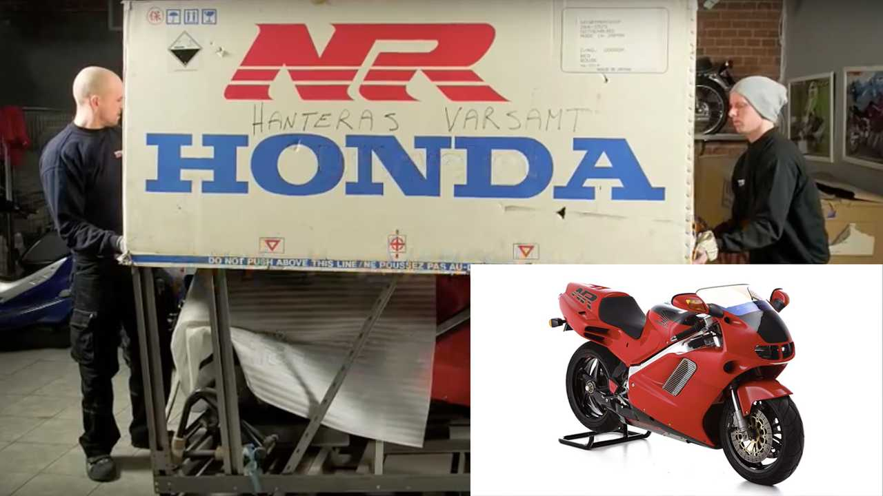 Honda NR760 and RC30