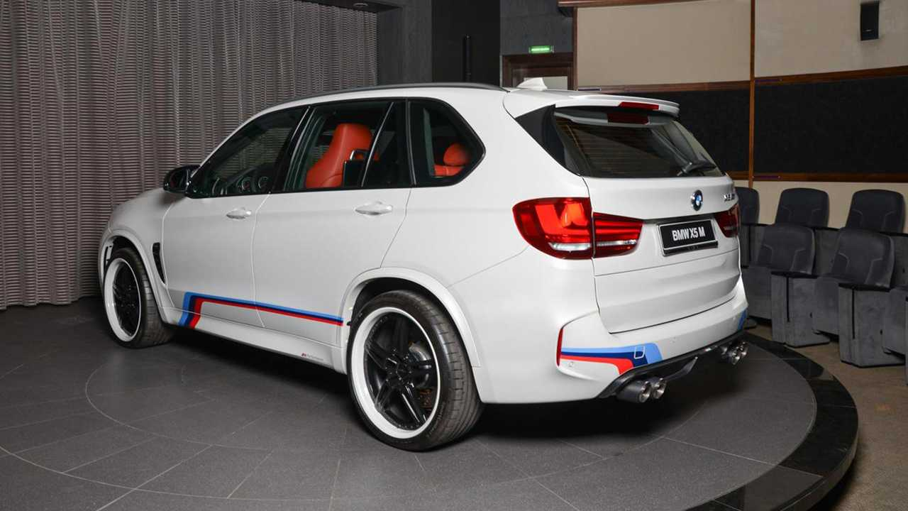 X5m Stock Exhaust