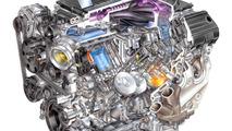 V8 6.2-liter LT4 supercharged engine