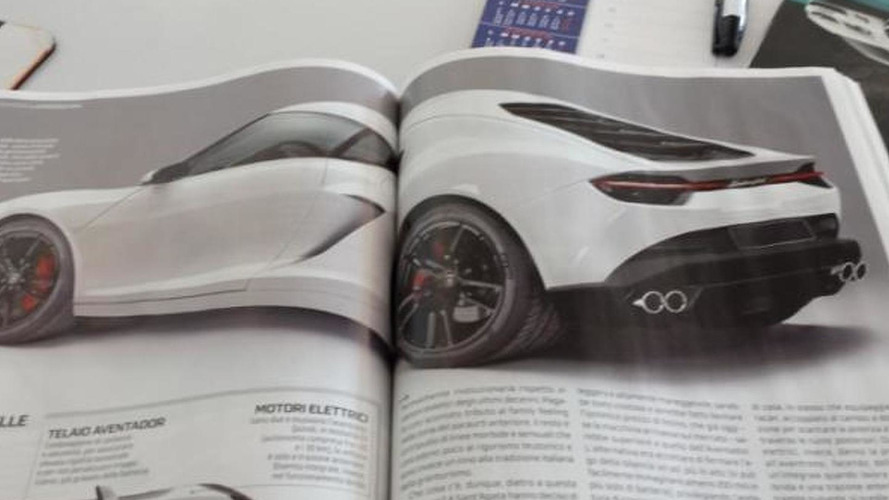 Lamborghini Asterion returns via magazine scans, could have 900 HP hybrid setup