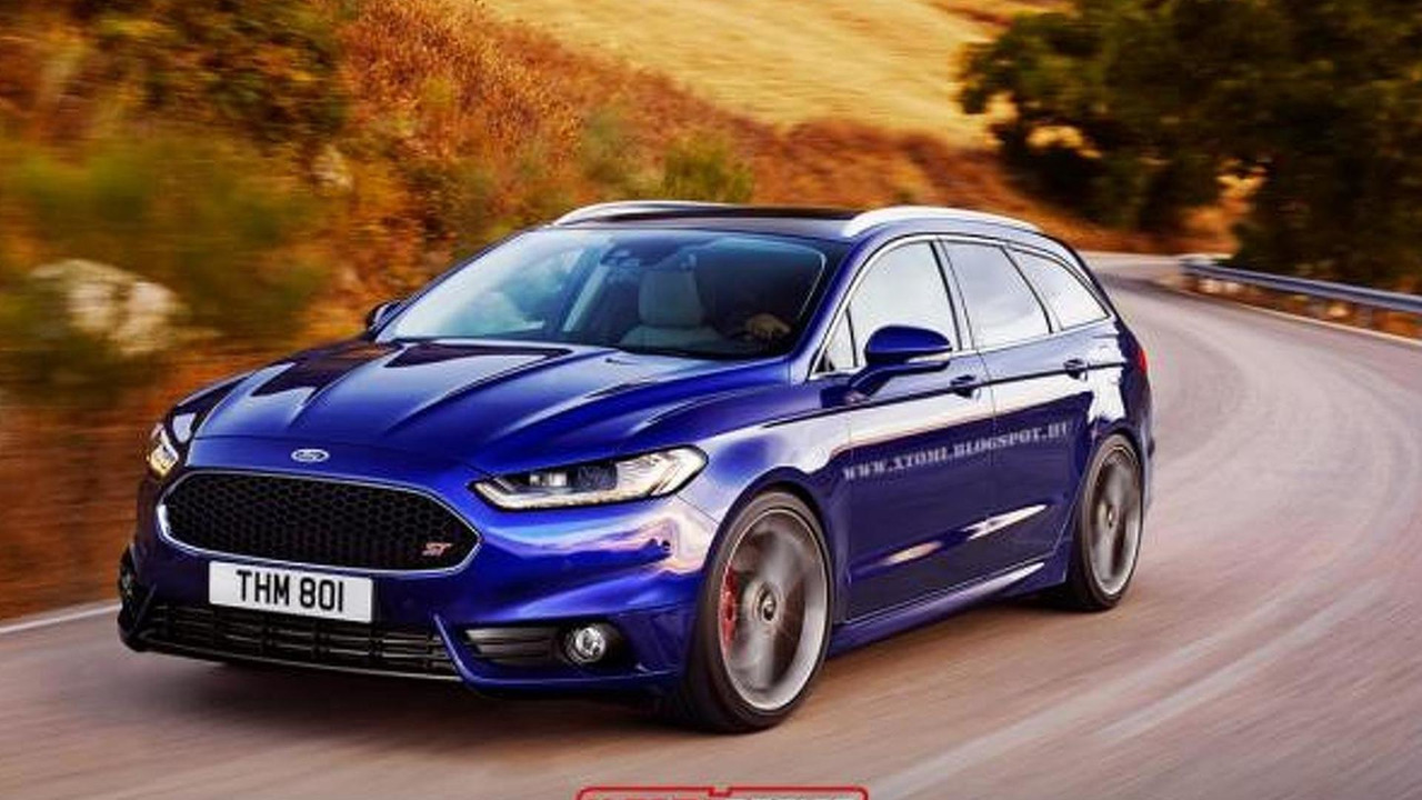 Ford Mondeo St 2017 >> 2015 Ford Mondeo Receives Virtual St Treatment