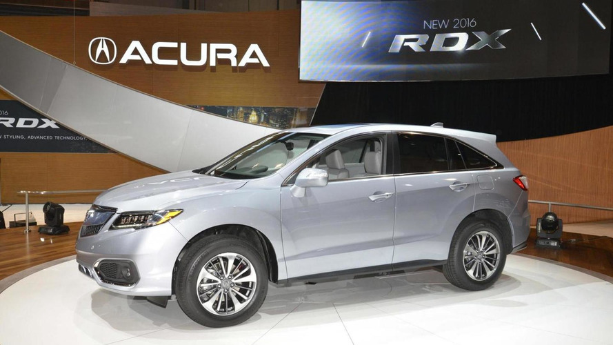 2016 Acura RDX arrives in Chicago with revised styling & more power