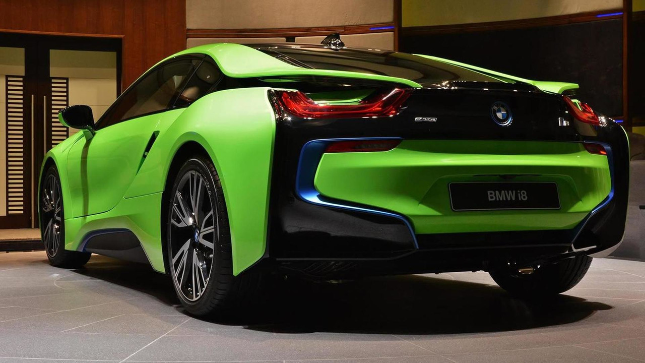 Bmw I8 Lime Green Motor1 Com Photos