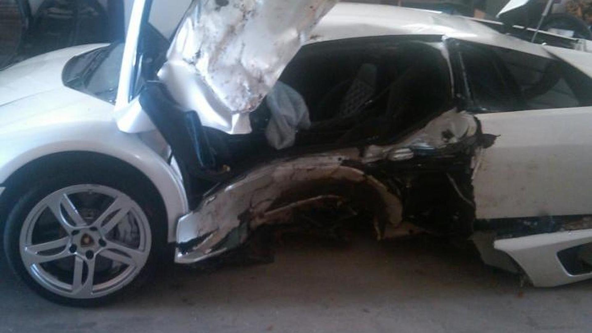Lamborghini Murcielago Joyride Ends With A Tree Crash Two Injured