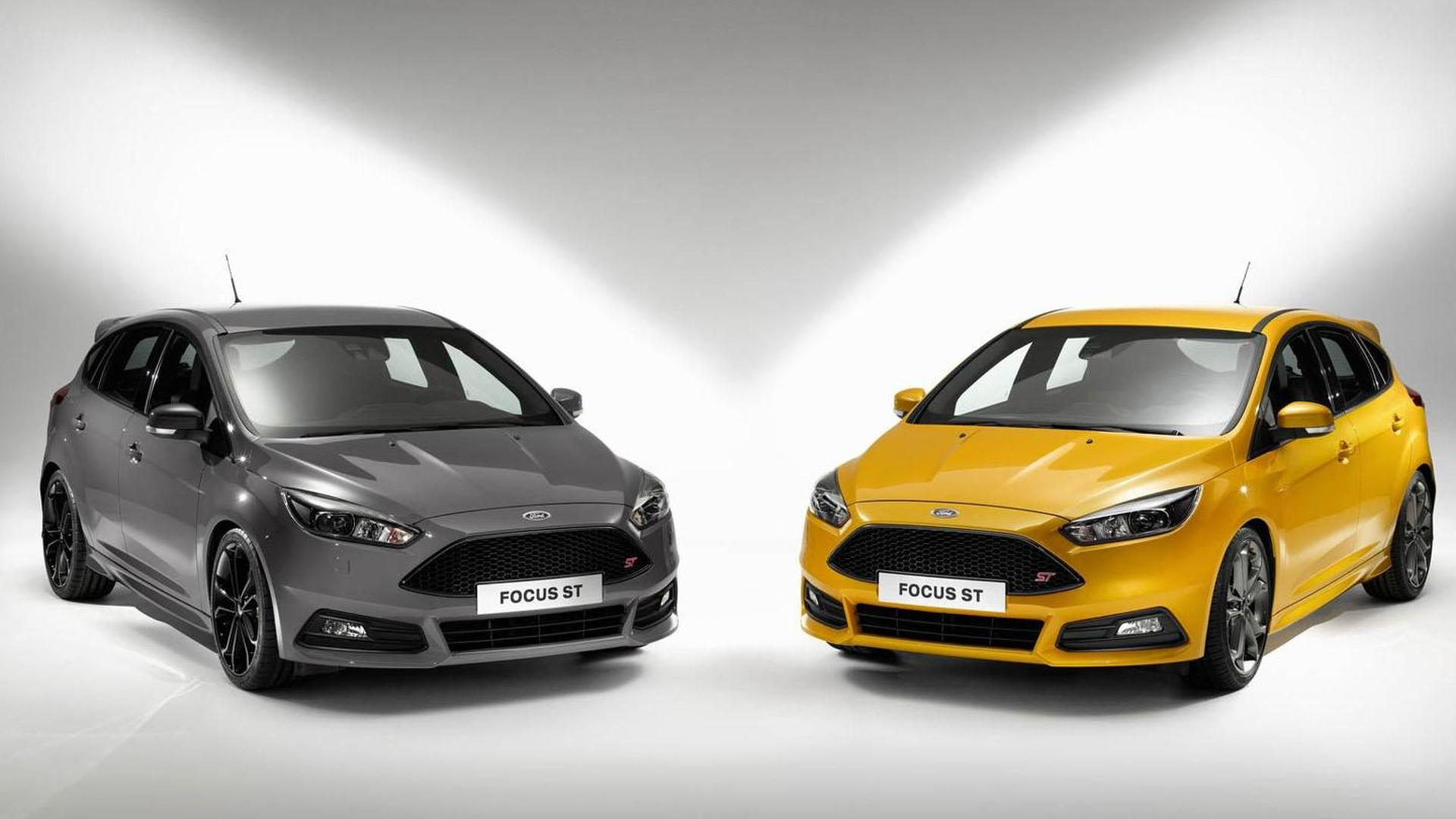 2015 ford focus st unveiled with revised styling new diesel engine