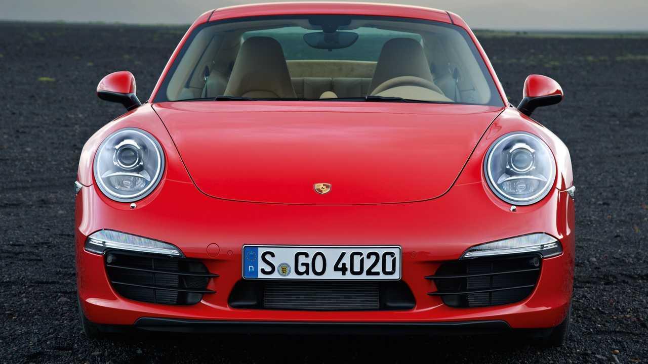 991 Porsche 911 Front