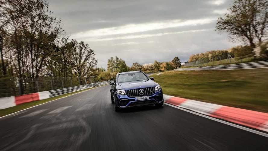 Mercedes-AMG GLC 63 S, il SUV più veloce al Nürburgring