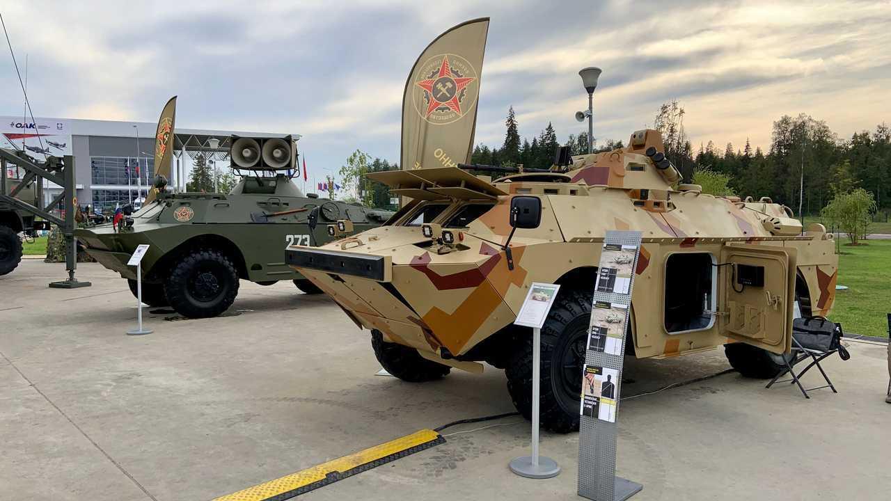 БРДМ-2МБ «Бекас» и БРДМ-2 ЗС-99