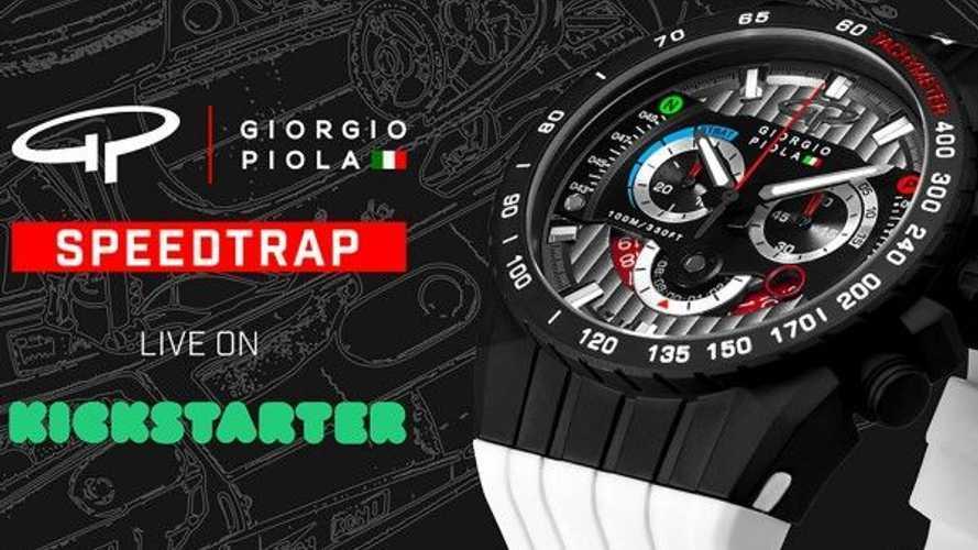 Uhr im Formel-1-Stil: Speedtrap von Giorgio Piola