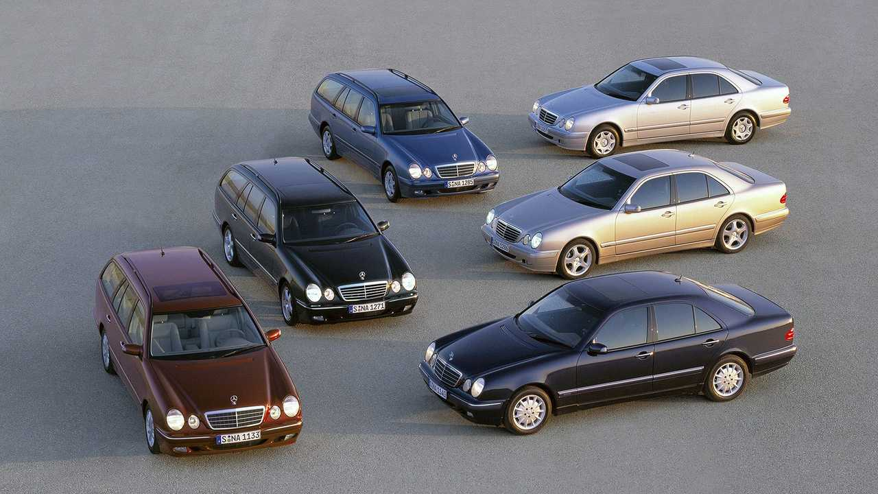 1995 bis 2002: Mercedes-Benz Baureihe 210
