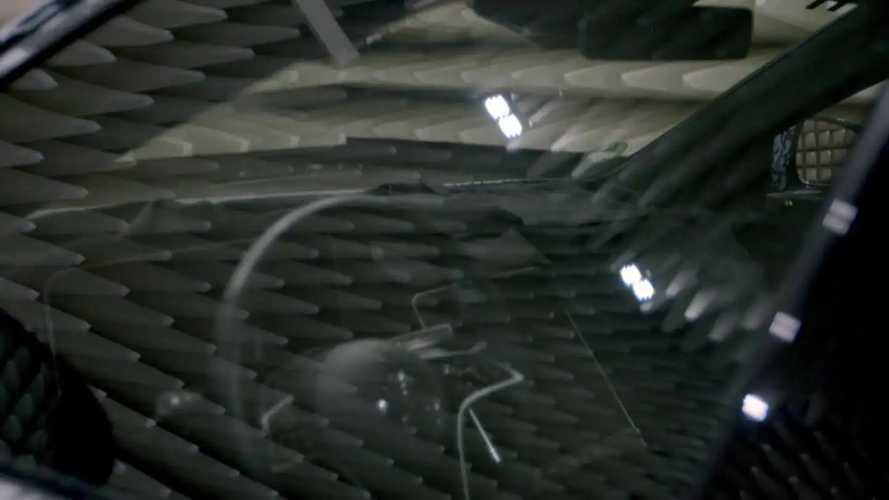 2021 Mercedes S-Class screenshots from teaser video