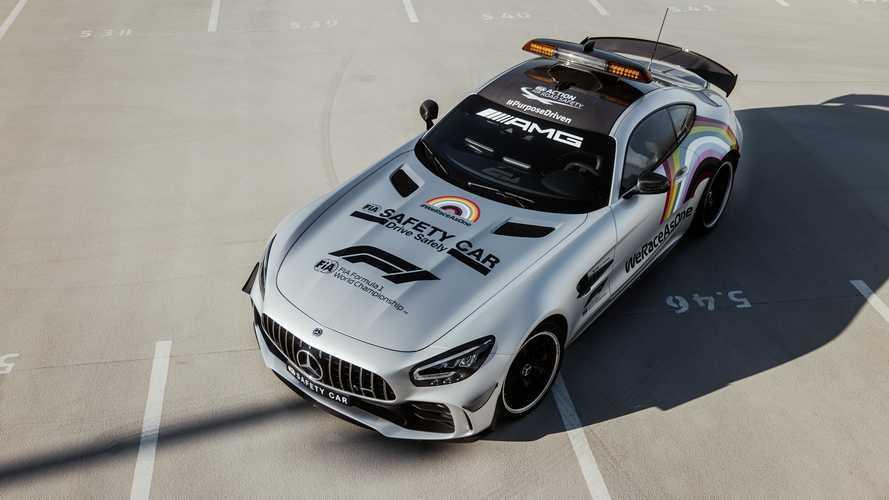 Mercedes-Benz présente une nouvelle livrée de la Safety Car de Formule 1