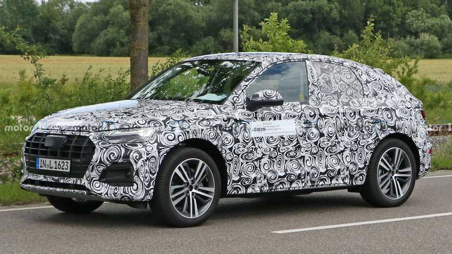 2021 Audi Q5 Sportback Can't Hide It's Sloping Roof In New Spy Photos