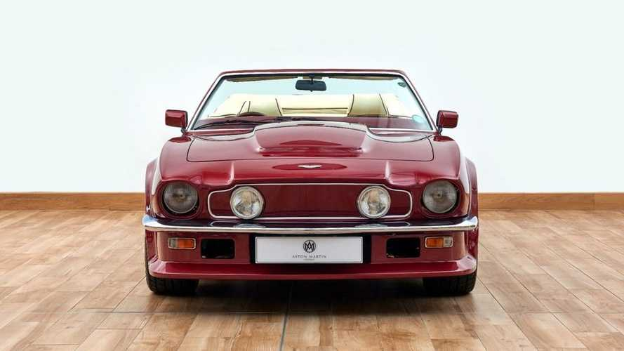 Ex-David Beckham 1988 Aston Martin AMV8 Volante for sale