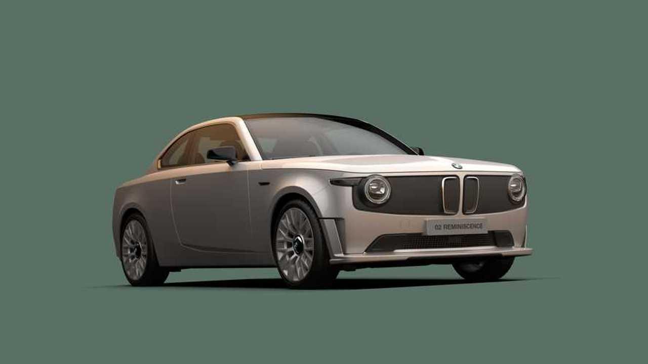 BMW 02 Reminiscence Concept renderelés