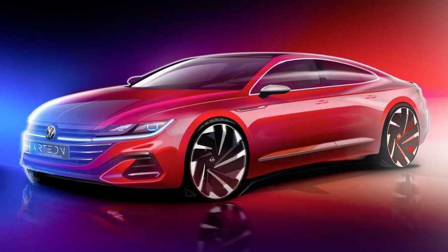 Обновленный VW Arteon показался на видео
