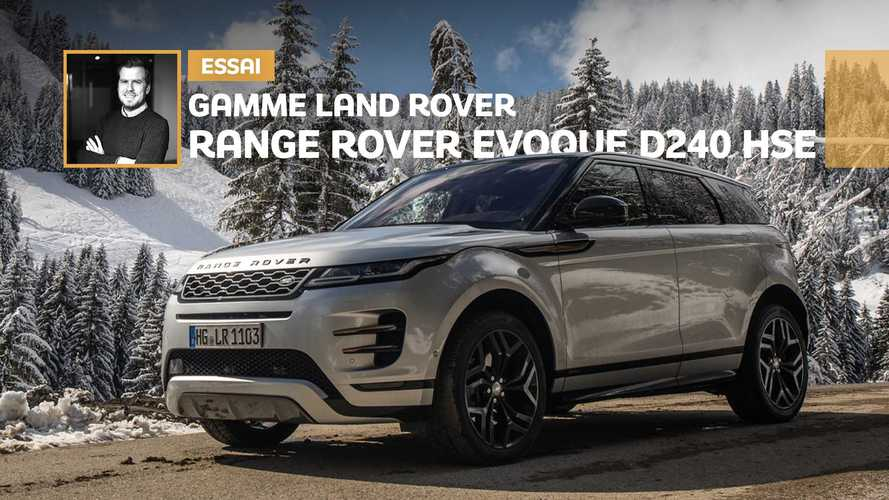 Essai gamme Land Rover - Range Rover Evoque D240 HSE (1/3)