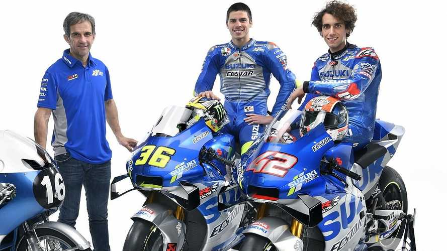 """""""En Suzuki no hay un piloto número 1, hay dos: Rins y Mir"""""""