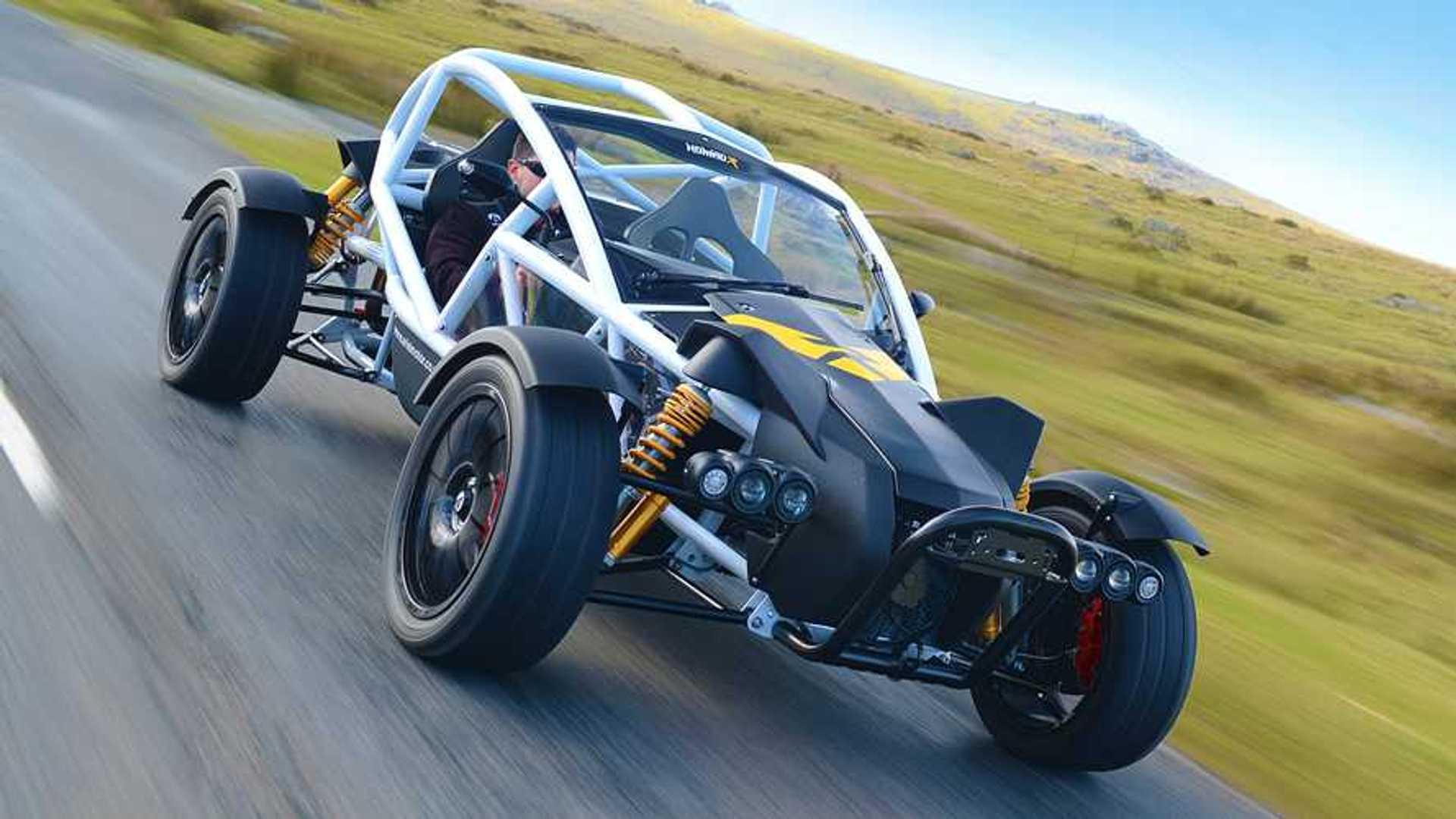 Ariel Nomad R: un 'juguete' off-road con motor Honda y 340 CV