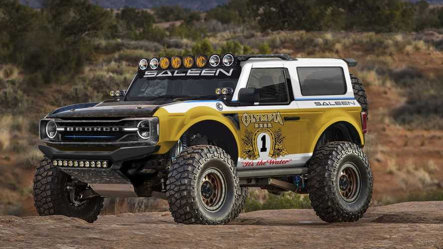 Ford Bronco Already Getting Baja-Themed Tuner Upfit From Saleen