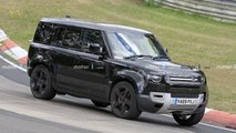 Land Rover Defender V8 new spy photos