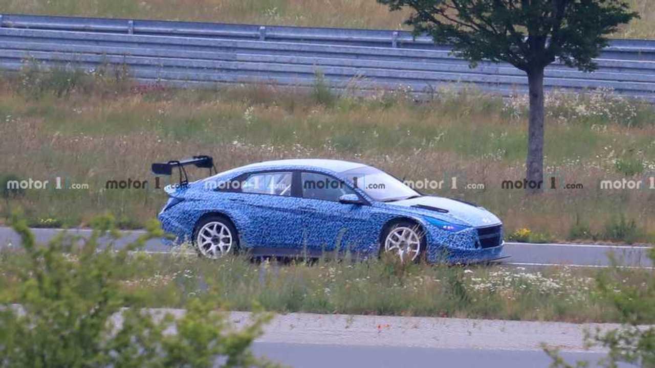 Hyundai Elantra Race Car