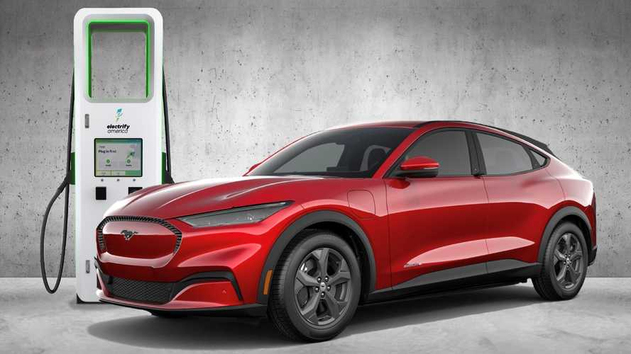 Ford Mustang Mach-E Comes With 250 kWh Electrify America Credit