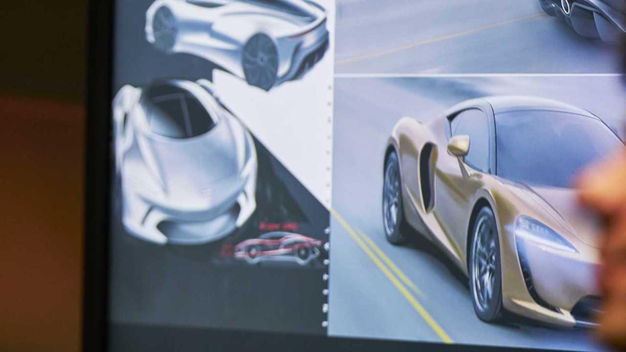 McLaren new model presentation