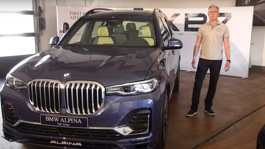 Alpina boss shows off the XB7 and B3