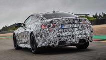 BMW M4 Coupé 2020, coche preserie