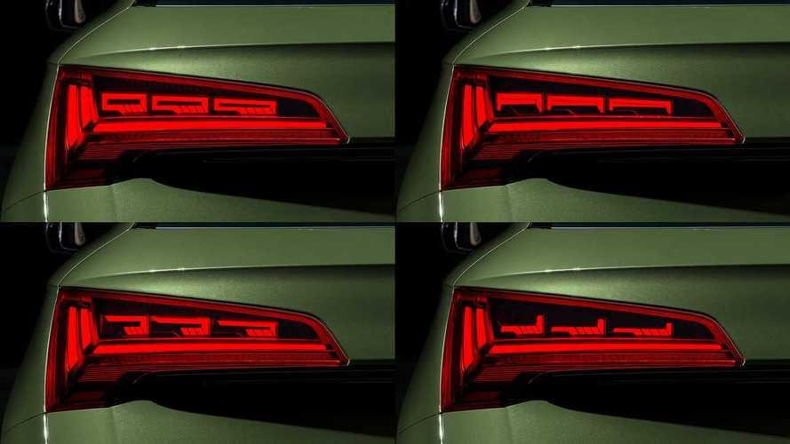 Audi придумает новые функции для задних фонарей