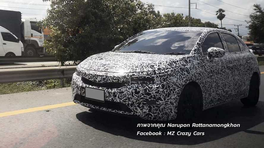 Flagra: Honda City Hatch intensifica testes para estrear no 2º semestre