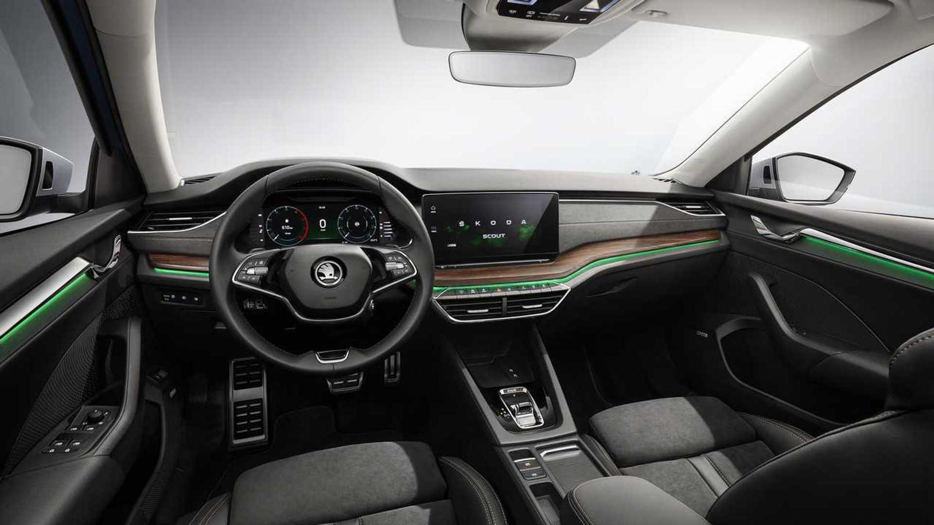 Skoda презентовала внедорожник нового поколения Octavia Combi Scout: фотографии и характеристики модели