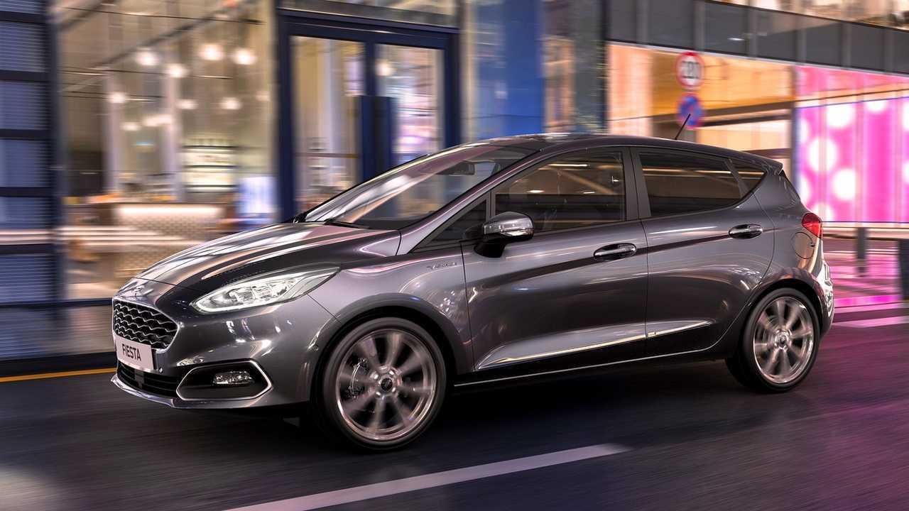 Ford Fiesta 2020 (UK)