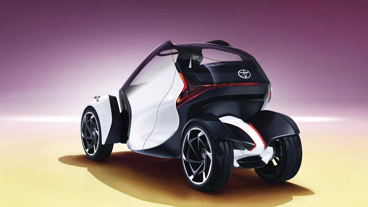 Toyota создала электрокар для матерей-одиночек