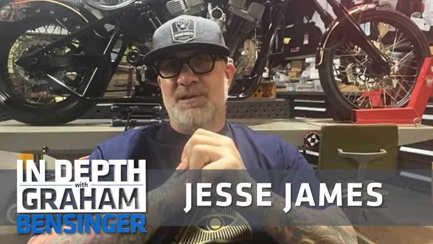 Jesse James Keeps Busy In the Shop While Waiting For Monster Garage Reboot
