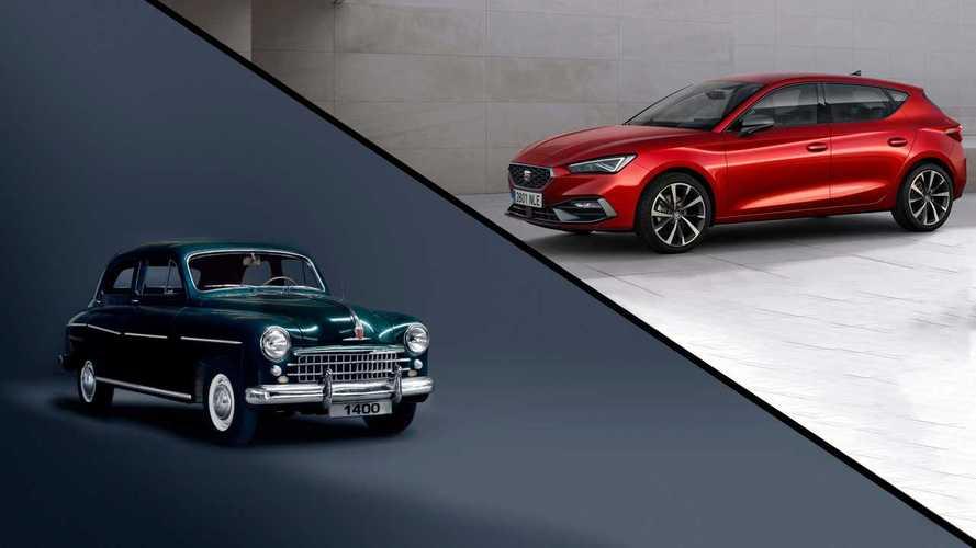 Los 15 SEAT más icónicos, para celebrar el 70 aniversario de la marca