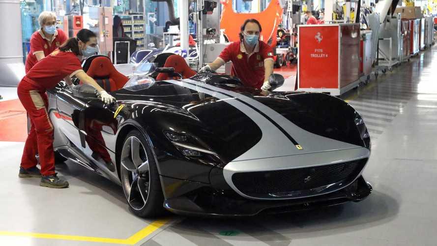 Videó: így próbálja újraindítani a gyártást Maranellóban a Ferrari