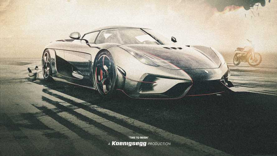 Гиперкар Koenigsegg Regera стал главным героем блокбастера