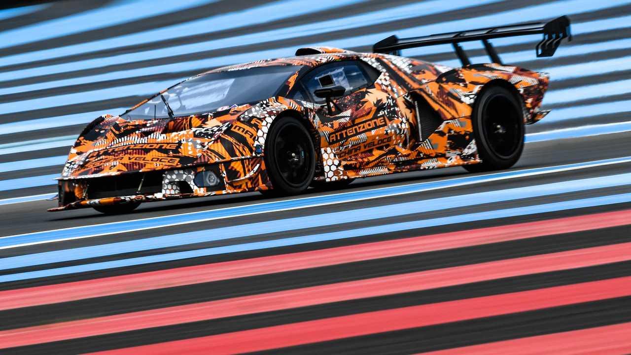 Lamborghini SCV12, teaser