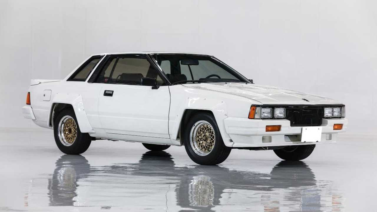 This Group B Nissan 240RS has done only 364 miles in 35 years