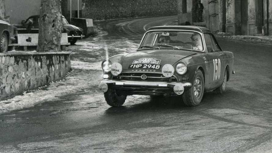 Sunbeam Tiger with Monte Carlo Rally pedigree heads for Paris