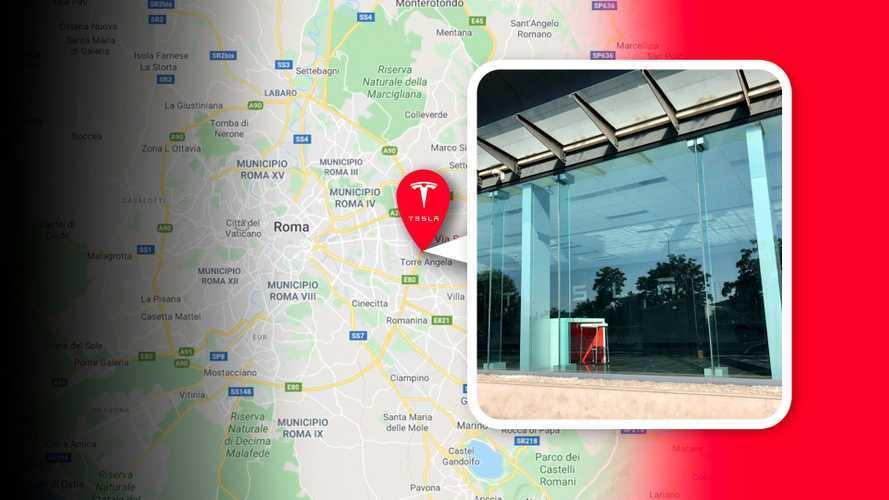 Ci siamo: Tesla sbarca a Roma, lo Store è pronto per l'inaugurazione