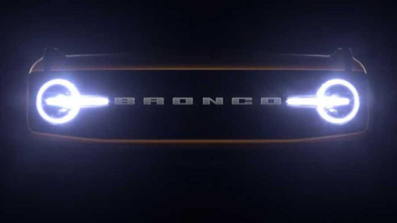 Bronco Grille Teaser