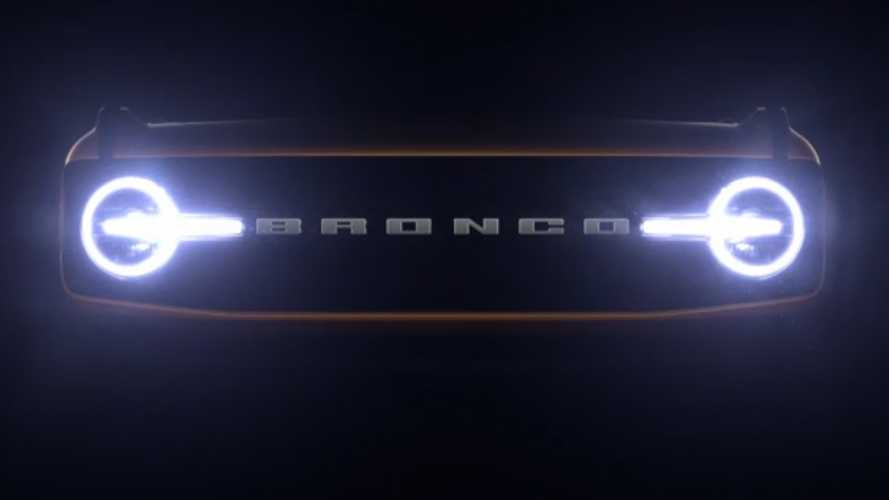 Latest Ford Bronco Teasers Reveal Grille, Combine New And Old SUVs