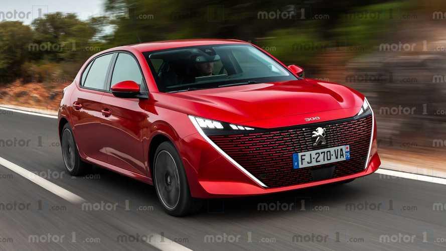Novo Peugeot 308 2021 terá visual agressivo para encarar Golf e Focus