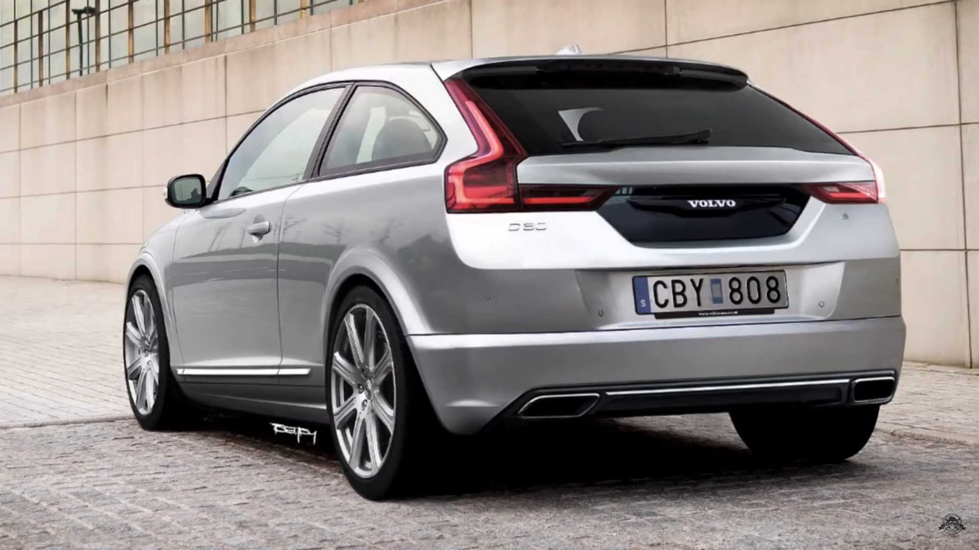 new volvo c30 imagined for the year 2020